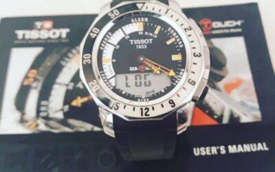 Reloj tactil TISSOT sea-touch