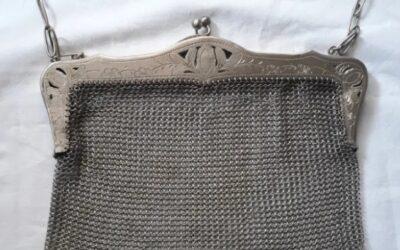 Monedero bolso de plata