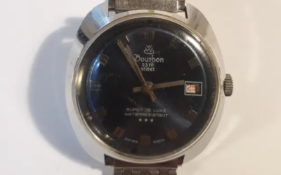 Reloj Bourbon 23rd street.swiss made
