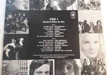CBS 1 Nuestros exitos del año. LP