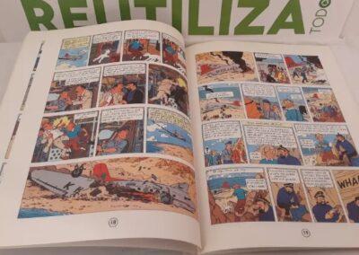 Stock de Coque.Las aventuras de tintin.1986