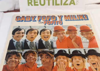 Gaby Fofo y Miliki con Fofito.1974