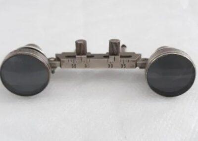 de la marca AUS JENA x2 hecho en alemania.incluye las gafas