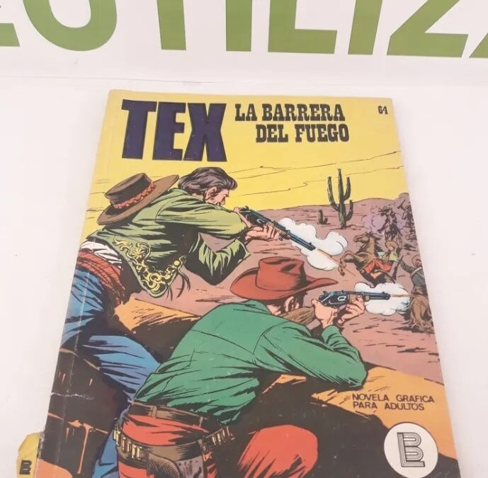 Tex.La barrera del fuego. 1972