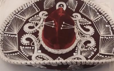 Sombrero mexicano Pigalle.Hecho en mexico