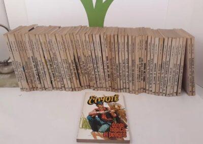 Lote de 164 revistas El Coyote.J mallorquí.ediciones favencia