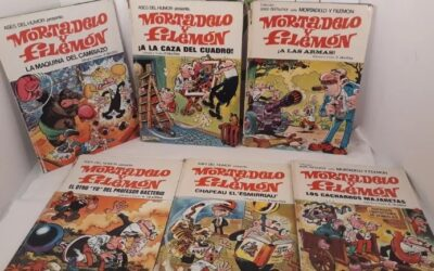 Antiguos tebeos Mortadelo y filemon