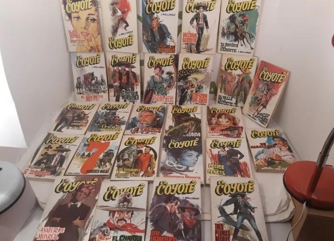 El Coyote Lote de 164 revistas
