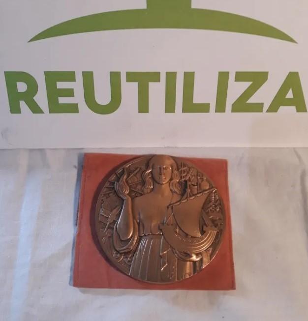 Medalla de bronce Francia 1990.P Turin