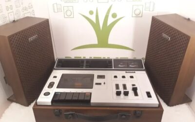 Grabadora Sony tape recorder TC 133 CS.