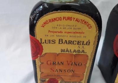 puro y autentico Luis Barcelo S.A malaga