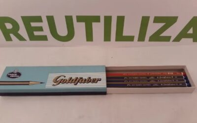 5 lapices A.W. Faber-Castell 1221 Germany.Goldfaber 4100