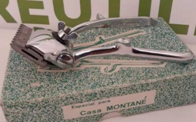 Antigua Maquina de cortar el pelo Casa Montané