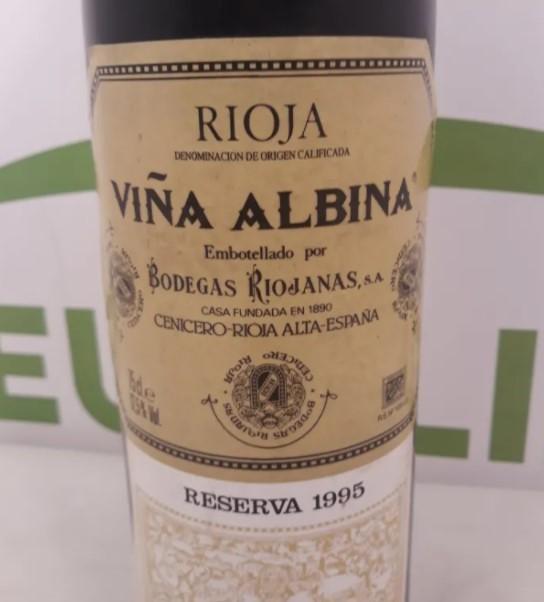 Botella Viña Albina