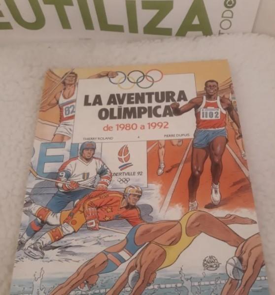 La aventura Olimpica.4 tomos.Grijalbo Dargaud