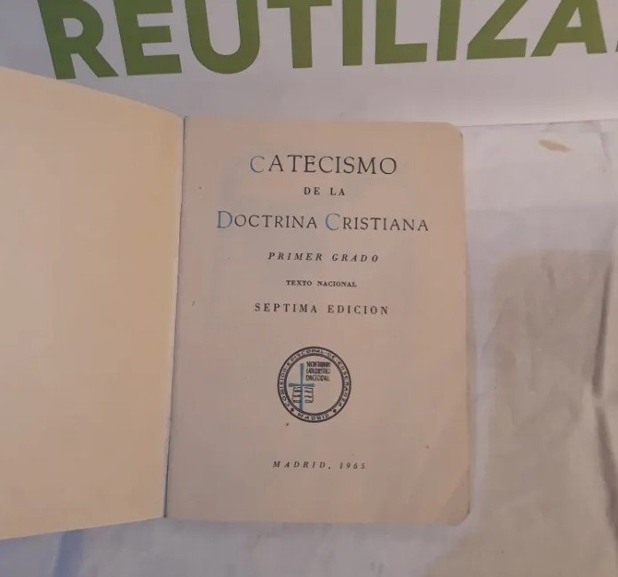 Catecismo de la doctrina cristiana.1965.